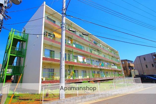 埼玉県富士見市、みずほ台駅徒歩18分の築49年 4階建の賃貸マンション