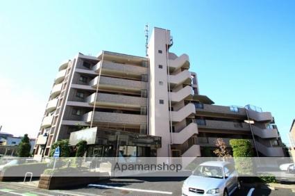 埼玉県朝霞市、北朝霞駅徒歩4分の築17年 6階建の賃貸マンション