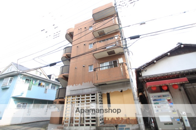 埼玉県朝霞市、北朝霞駅徒歩3分の築20年 4階建の賃貸マンション
