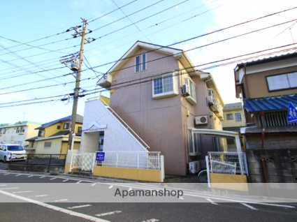 埼玉県ふじみ野市、ふじみ野駅徒歩27分の築26年 2階建の賃貸アパート