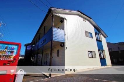 埼玉県富士見市、志木駅徒歩49分の築21年 2階建の賃貸アパート
