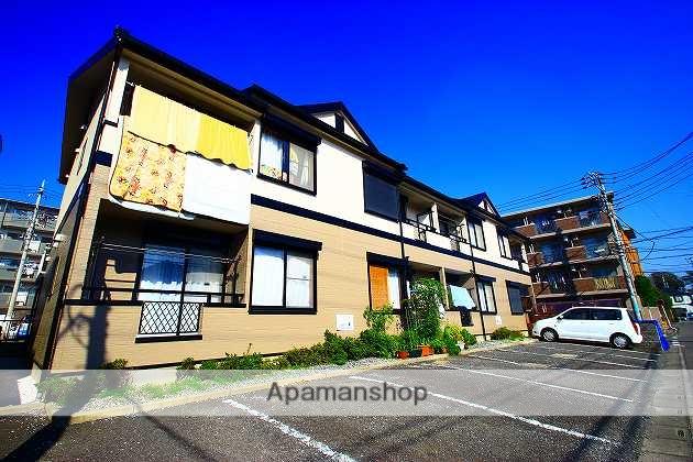 埼玉県富士見市、鶴瀬駅徒歩29分の築21年 2階建の賃貸アパート