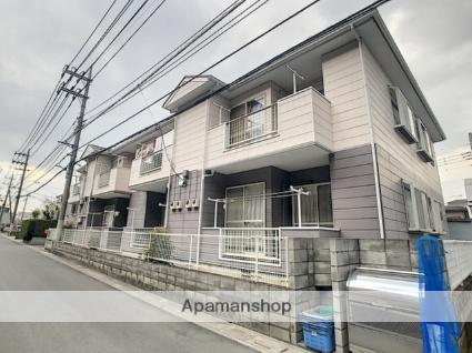 埼玉県富士見市、ふじみ野駅徒歩6分の築22年 2階建の賃貸アパート