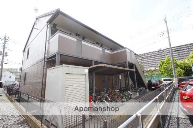 埼玉県富士見市、ふじみ野駅徒歩2分の築16年 2階建の賃貸アパート