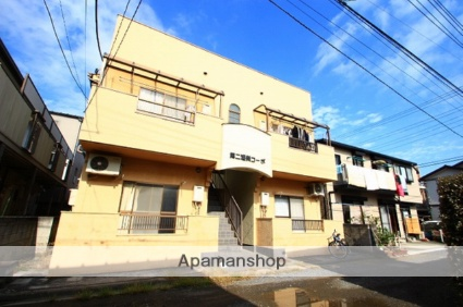 埼玉県志木市、朝霞台駅徒歩29分の築25年 2階建の賃貸アパート
