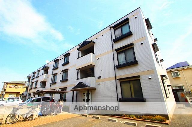 埼玉県新座市、新座駅徒歩13分の築22年 3階建の賃貸マンション