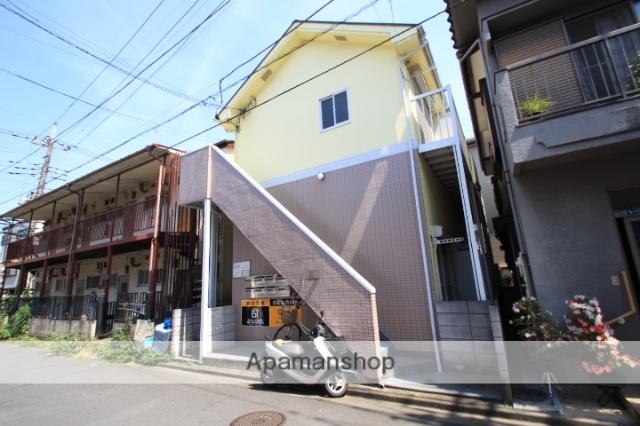 埼玉県志木市、志木駅徒歩16分の築23年 2階建の賃貸アパート