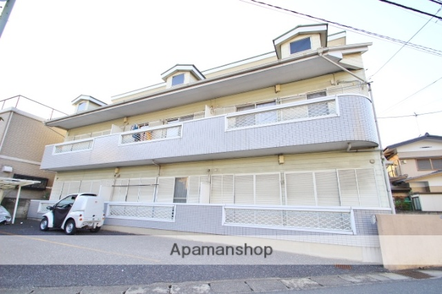 埼玉県朝霞市、北朝霞駅徒歩10分の築24年 2階建の賃貸アパート