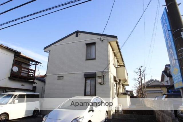 埼玉県ふじみ野市、鶴瀬駅徒歩39分の築19年 2階建の賃貸アパート