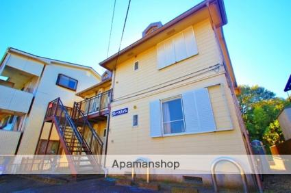 埼玉県富士見市、志木駅徒歩43分の築24年 2階建の賃貸アパート