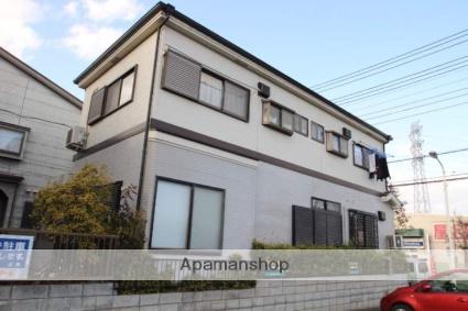 埼玉県入間郡三芳町、鶴瀬駅徒歩12分の築20年 2階建の賃貸アパート