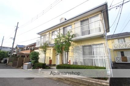 埼玉県新座市、新座駅徒歩12分の築23年 2階建の賃貸テラスハウス