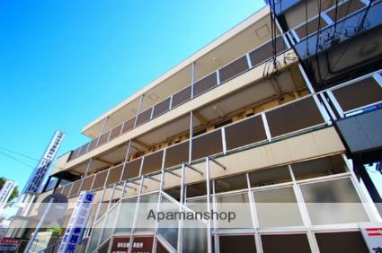 埼玉県朝霞市、朝霞台駅徒歩1分の築32年 3階建の賃貸マンション
