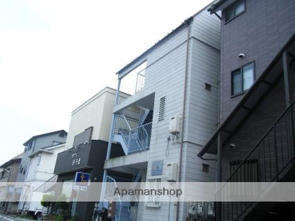 埼玉県志木市、志木駅徒歩20分の築28年 3階建の賃貸アパート