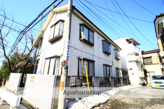 埼玉県富士見市、鶴瀬駅徒歩19分の築29年 2階建の賃貸アパート