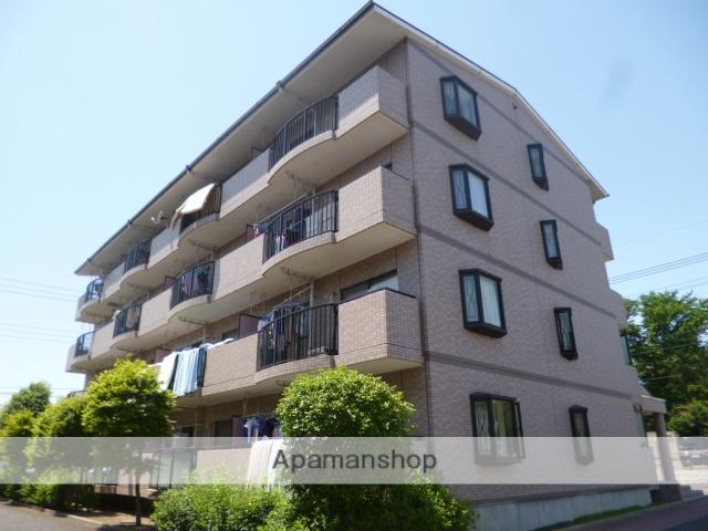 埼玉県ふじみ野市、鶴瀬駅徒歩30分の築20年 4階建の賃貸マンション