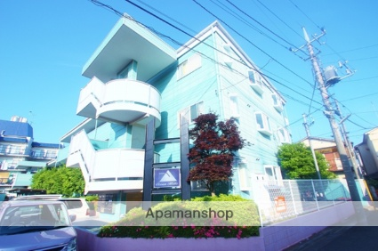 埼玉県富士見市、みずほ台駅徒歩17分の築24年 3階建の賃貸マンション