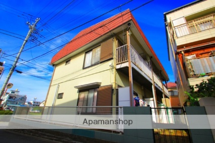 埼玉県富士見市、みずほ台駅徒歩17分の築29年 2階建の賃貸アパート