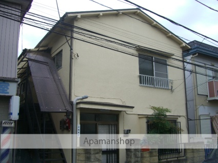埼玉県富士見市、鶴瀬駅徒歩11分の築45年 2階建の賃貸アパート