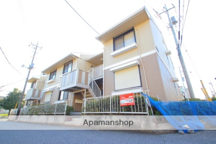 埼玉県富士見市、柳瀬川駅徒歩16分の築26年 2階建の賃貸アパート