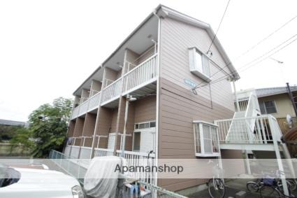 埼玉県朝霞市、朝霞駅徒歩18分の築25年 2階建の賃貸アパート