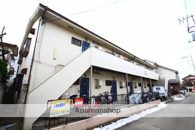 埼玉県志木市、志木駅徒歩14分の築25年 2階建の賃貸アパート
