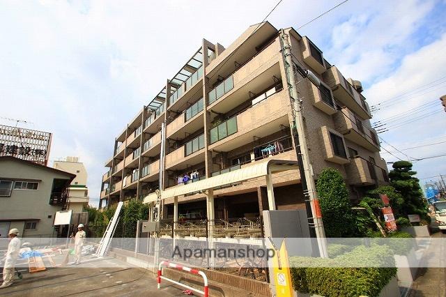 埼玉県朝霞市、北朝霞駅徒歩6分の築19年 5階建の賃貸マンション