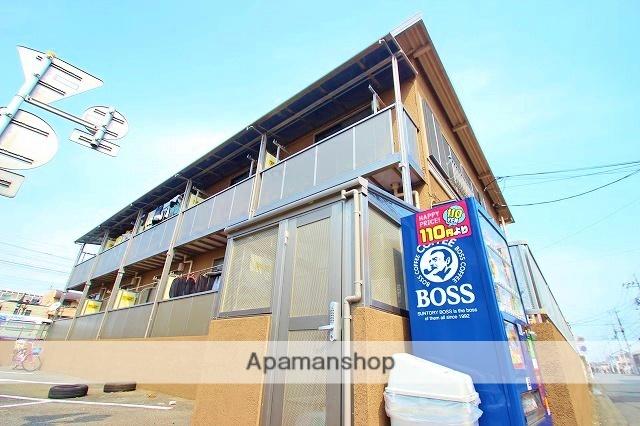 埼玉県富士見市、みずほ台駅徒歩5分の築32年 2階建の賃貸アパート