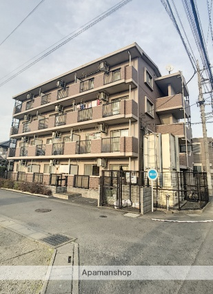 埼玉県ふじみ野市、鶴瀬駅徒歩25分の築13年 4階建の賃貸マンション
