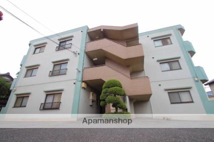 埼玉県富士見市、鶴瀬駅徒歩22分の築23年 3階建の賃貸マンション