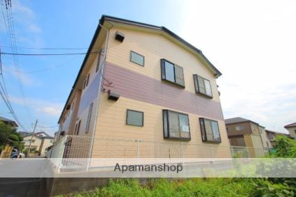 埼玉県入間郡三芳町、鶴瀬駅徒歩20分の築19年 2階建の賃貸アパート