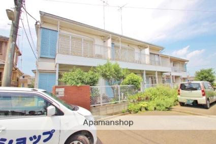 埼玉県富士見市、みずほ台駅徒歩13分の築34年 2階建の賃貸アパート