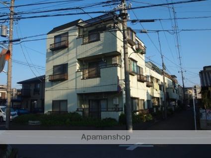 埼玉県朝霞市、北朝霞駅徒歩12分の築28年 3階建の賃貸マンション
