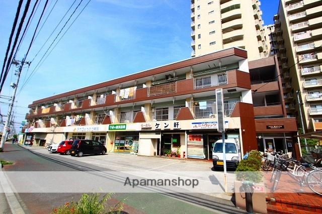 埼玉県志木市、志木駅徒歩12分の築35年 3階建の賃貸マンション