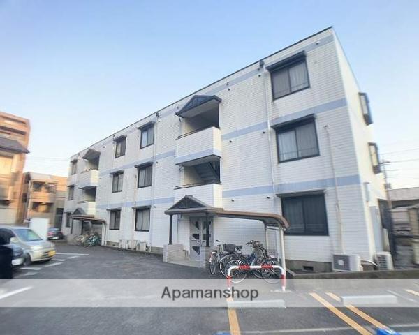 埼玉県朝霞市、北朝霞駅徒歩4分の築25年 3階建の賃貸マンション