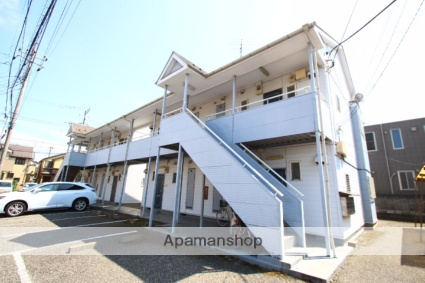 埼玉県新座市、新座駅徒歩25分の築25年 2階建の賃貸アパート