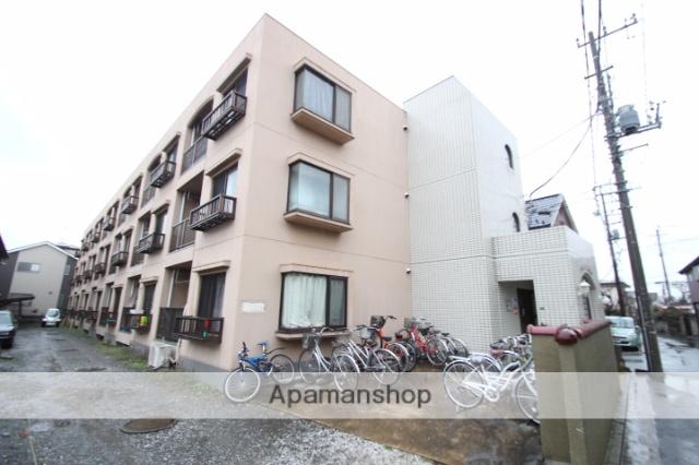 埼玉県新座市、新座駅徒歩18分の築27年 3階建の賃貸マンション