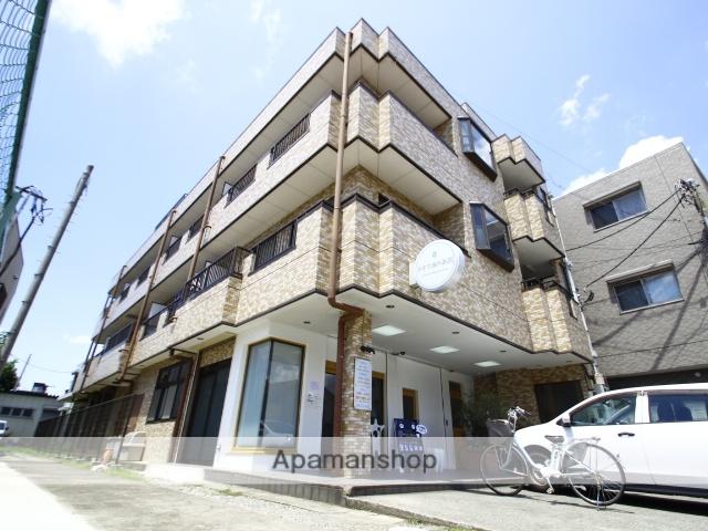 埼玉県志木市、朝霞台駅徒歩30分の築26年 3階建の賃貸マンション