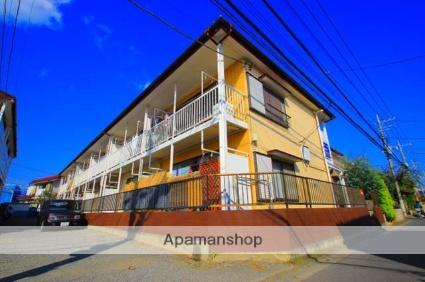 埼玉県入間郡三芳町、鶴瀬駅徒歩13分の築35年 2階建の賃貸アパート