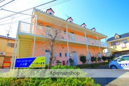 埼玉県富士見市、みずほ台駅徒歩29分の築25年 2階建の賃貸アパート