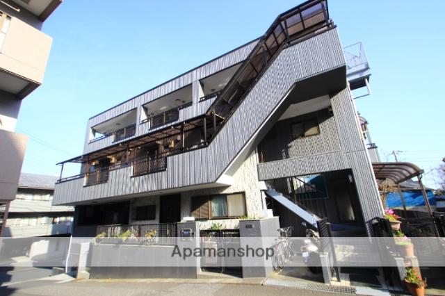 埼玉県朝霞市、北朝霞駅徒歩2分の築23年 3階建の賃貸マンション