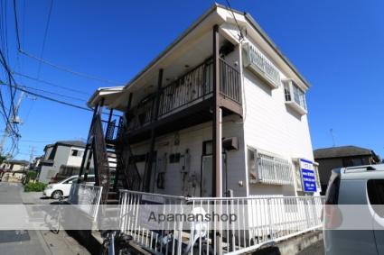 埼玉県川越市、ふじみ野駅徒歩42分の築29年 2階建の賃貸アパート
