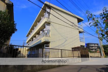 埼玉県富士見市、みずほ台駅徒歩19分の築28年 3階建の賃貸マンション