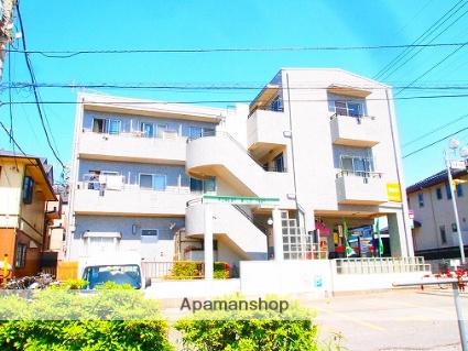 埼玉県富士見市、みずほ台駅徒歩20分の築29年 3階建の賃貸マンション