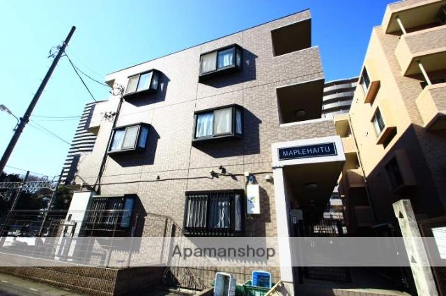 埼玉県富士見市、ふじみ野駅徒歩2分の築17年 3階建の賃貸マンション