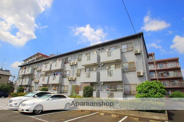 埼玉県入間郡三芳町、みずほ台駅徒歩23分の築23年 3階建の賃貸マンション