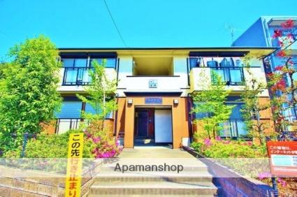埼玉県富士見市、鶴瀬駅徒歩6分の築22年 2階建の賃貸アパート