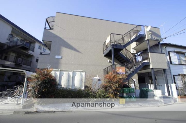 埼玉県朝霞市、北朝霞駅徒歩8分の築12年 3階建の賃貸マンション