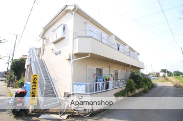 埼玉県志木市、朝霞台駅徒歩45分の築26年 2階建の賃貸アパート