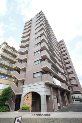 埼玉県志木市、朝霞台駅徒歩22分の築17年 13階建の賃貸マンション